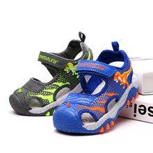 2020 Mesh LED Children Sandals 3D