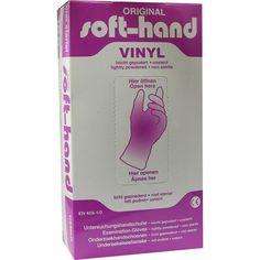 VINYL Unters.Handschuhe gepudert Grösse XL:   Packungsinhalt: 100 St Handschuhe PZN: 07354534 Hersteller: MEDENTA GmbH Preis: 6,38 EUR…