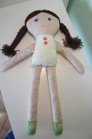 Výsledek obrázku pro jak ušít panenku z filcu