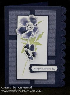 Splitcoaststampers Creative Crew April Challenge - Concord Mother's Day Card