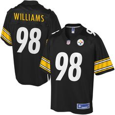 Let your young one display his team pride on game day with this Vince Williams player jersey from NFL Pro Line. It features bold Pittsburgh Steelers graphics along with his favorite player's name and number. Everyone will know his commitment to the Pittsburgh Steelers with this spirited jersey! Pittsburgh Steelers Players, Steelers Team, Steelers Football, Steelers Cheerleaders, Official Nfl Football, Football Fans, Football Quotes, Ramon Foster, Broncos