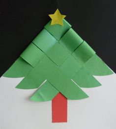 Woven Christmas tree to print and assemble. (page is in Spanish) Christmas Activities, Christmas Crafts For Kids, Christmas Projects, Holiday Crafts, Christmas Decorations, Noel Christmas, Winter Christmas, Christmas Ornaments, Origami Christmas