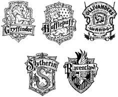 Harry Potter Clip Art, Harry Potter Crest, Deco Harry Potter, Harry Potter Artwork, Harry Potter Tattoos, Harry Potter Gifts, Harry Potter Pictures, Harry Potter Characters, Harry Potter Coloring Pages