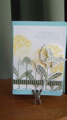 Dandelions Pusteblume Napkins, Tableware, Birthday, Flowers, Crafting, Nice Asses, Dinnerware, Towels, Dinner Napkins