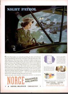 A Civil Air Patrol pilot flies a night patrol -- LIFE - Google Books