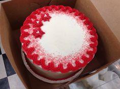 Nine inch cake