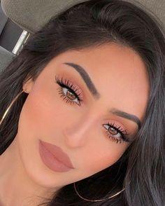 Soft Makeup Looks, Glam Makeup Look, Nude Makeup, Prom Makeup Looks, Pretty Makeup, Skin Makeup, Eyeshadow Makeup, Makeup Kit, Eyeshadow Palette
