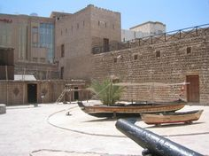 Dubai Museum.  review say very small only 3 to enter, but explains history of Dubai well.  In old Fort? The Museum entrance