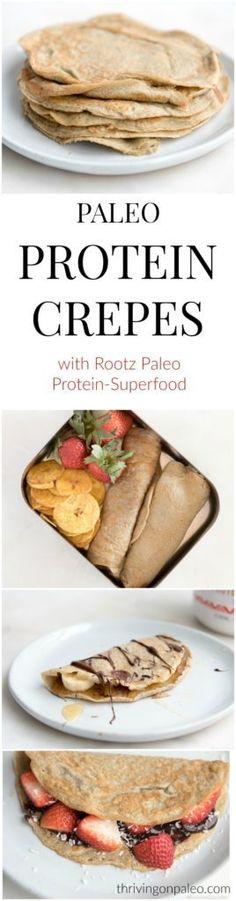 Paleo Protein Crepes