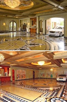 Million Dollar Car garage | The House of Beccaria