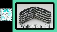 Craft Life Wallet Tutorial on One Rainbow Loom ~ Fun Father's Day Gift Idea