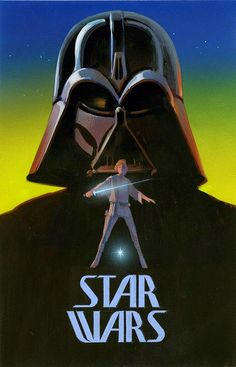 'Star Wars' Concept Poster by Ralph McQuarrie