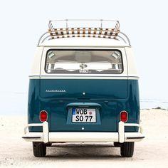 Follow me to the beach! #vintage #vwmicrobus #volkswagen #vw