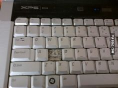 """Lost my """"S"""" key, guess there is no going BACK now."""
