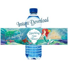 INSTANT DOWNLOAD Ariel Little Mermaid Water by LetsPartyShoppe