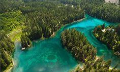 Grüner See, Tragöß, Steiermark, Austria
