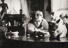 James Dean - amerykański aktor filmowy, telewizyjny i teatralny, dwukrotnie nominowany do Oscara. Niedługo po swojej śmierci stał się ikoną popkultury (początkowo w Stanach Zjednoczonych, później także w innych krajach), jak również światowego kina oraz nonkonformistycznej postawy życiowej. http://www.kotysos.org/daj-procenta-na-kocieta/