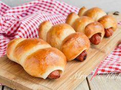 港式香腸麵包 (湯種法)