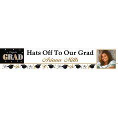 Custom Festive Grad Photo Banner 6ft