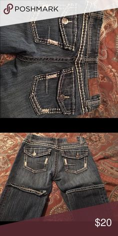 Bke Addison size 27r Mint condition. Smoke free home. BKE Jeans Boot Cut