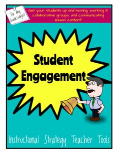 "Teacher Tools for Student Engagement - Every teacher is always looking for ways to engage the students they teach. Whether you teach Pre-K or a High School, these instructional strategies with QR code video examples will be a great ""go-to"" when looking for engagement strategies to embed into your content lesson plans. #teachersherpa"