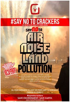 Time is calling to think sustainable & celebrate our festivals sustainably! Let's begin with Diwali. Share and spread this campaign to show that you care for this planet! Come along with us in this crusade of saving Mother Earth!~ #saynotocrackers #ctmgoessustainable