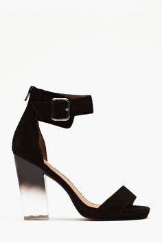 Jeffrey Campbell Soiree Platform - Black Suede #fashion #jeffreycampbell #love