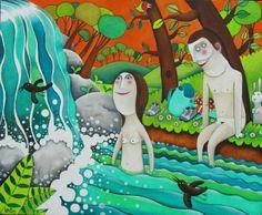 LEANDRO LAMAS -Soñando despierta con las ilustraciones de Leandro Lamas
