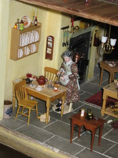 The House of the Three Widows - Cookie's World of Historic Dolls Houses and Miniatures