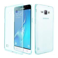 Galaxy J3 H�lle, KingShark TPU Schutzh�lle Case Cover Ultrad�nn Weich Flexibel Silikon Bumper f�r Samsung Galaxy J3 (mintgr�n)