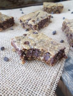 Peanut Butter Oatmeal Chocolate Chip Bars