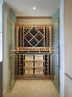 Browse our stunning gallery of fine designs that are sure to inspire your choice of wine room.