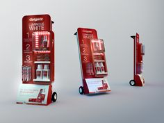 Colgate End Cap by Edward Bido, via Behance