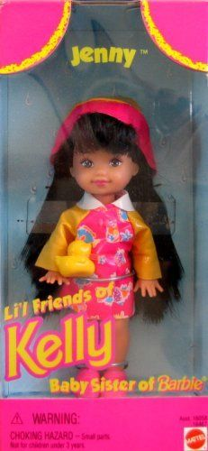Barbie JENNY Lil Friends of KELLY Doll (1996) by Mattel, http://www.amazon.com/dp/B000SZWNYI/ref=cm_sw_r_pi_dp_c5gErb18H9MBJ