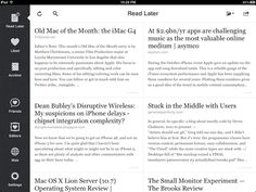 Instapaper. Simplicity done right.