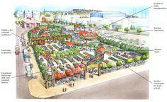 Next up for Wynyard Quarter – an edible inner city garden Urban Agriculture, Urban Farming, Auckland Art Gallery, Permaculture Design Course, Cities, Tree Bed, Covered Garden, Vegetable Garden Design, Garden Architecture