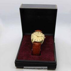 Eterna Matic 12824 Baujahr 1974 mit Uhrenbox, kostenloser Versand.. - Square Watch, Box, Clock, Accessories, Omega Watch, Find Friends, Wrist Watches, Watch, Snare Drum