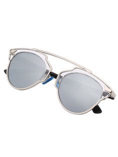 Online shopping for Contrast Cut Out Frame Fashion Sunglasses from a great selection of women's fashion clothing & more at MakeMeChic.COM.