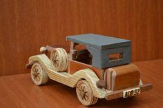 carrinho de madeira antigo 2