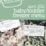 Baby food menus--- awesome, includes shopping lists for the month.  God bless this website and the woman that writes it!