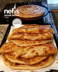 Easy Crepe Recipe, Crepe Recipes, Crepes, Turkish Recipes, Ethnic Recipes, Tasty, Yummy Food, Pastry Cake, Food Preparation