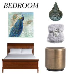 """""""The bedroom"""" by anne-lise-knoph on Polyvore featuring interior, interiors, interior design, home, home decor, interior decorating, Courtside Market, Nicole Miller, HighTower and Ethan Allen"""
