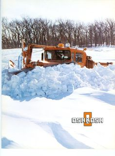 Big Chief in Action! Farm Trucks, Cool Trucks, Big Trucks, Semi Trucks, Heavy Duty Trucks, Heavy Truck, Heavy Construction Equipment, Heavy Equipment, Snow Removal Equipment