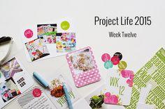Amca Design: PROJECT LIFE - Year 2015 Week twelve