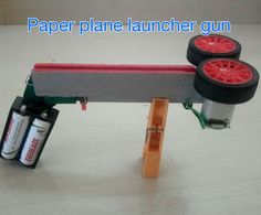 how to make a paper plane launcher easy