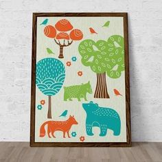 poster little forest