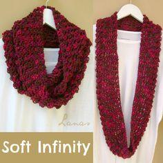 Lanas de Ana: Soft Infinity Scarf