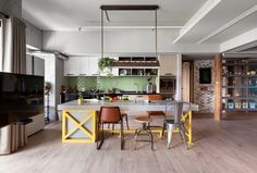 The Family Playground apartment in Kaohsiung City by House Design