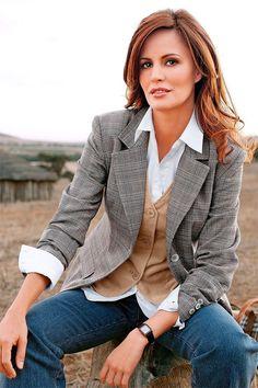 Tweed European blazer