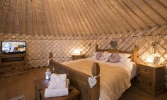Lavender Yurt | Country View Cottages in Cornwall